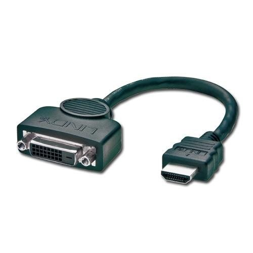 Adapter gn.DVI-D-wt.HDMI Lindy 41227
