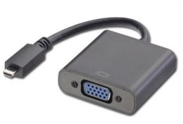 Adapter HDMI D na VGA Lindy 38193